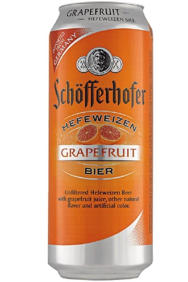 Schofferhofer Hefeweizen Grapefruit Cans (pack of 24)