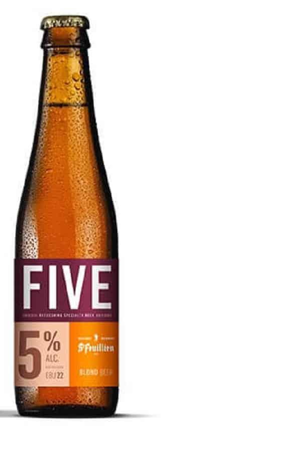 St Feuillien Five bottle