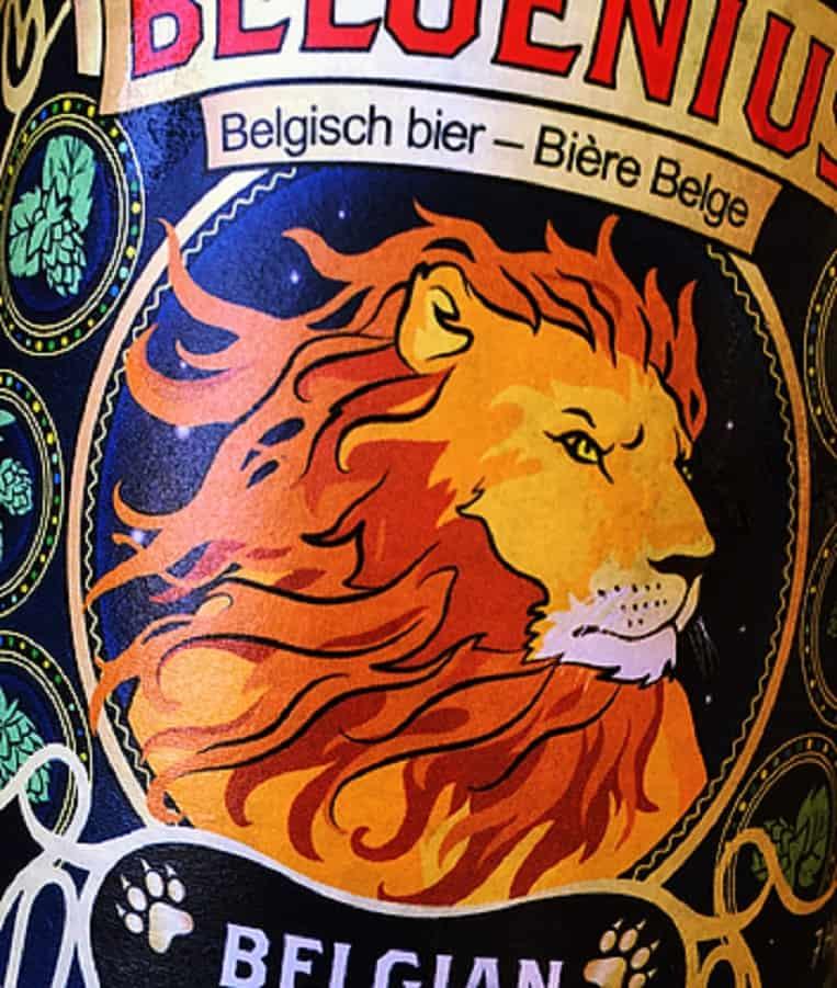 Belgenius Belgian Double IPA logo