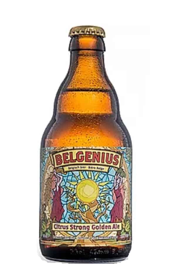 Belgenius Citrus Hopped Golden Ale bottle