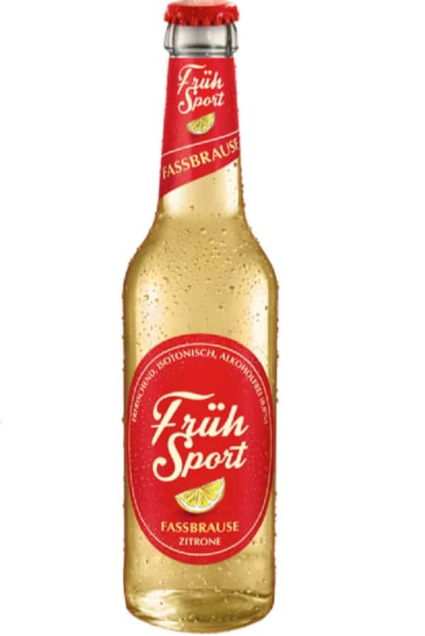 Fruh Sport Fassbrause bottle