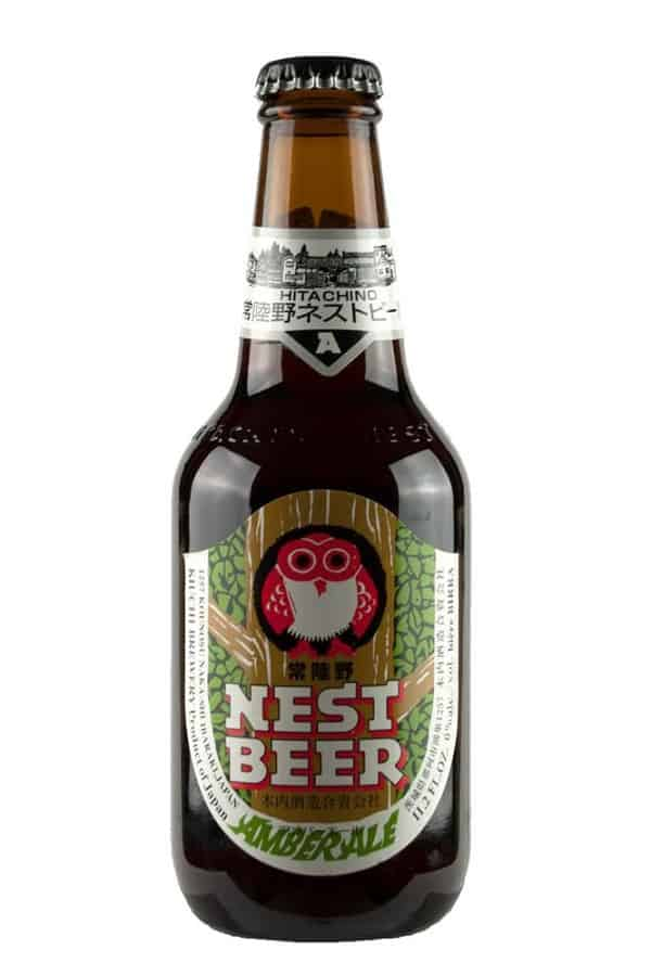 Hitachino Nest Amber Ale bottle