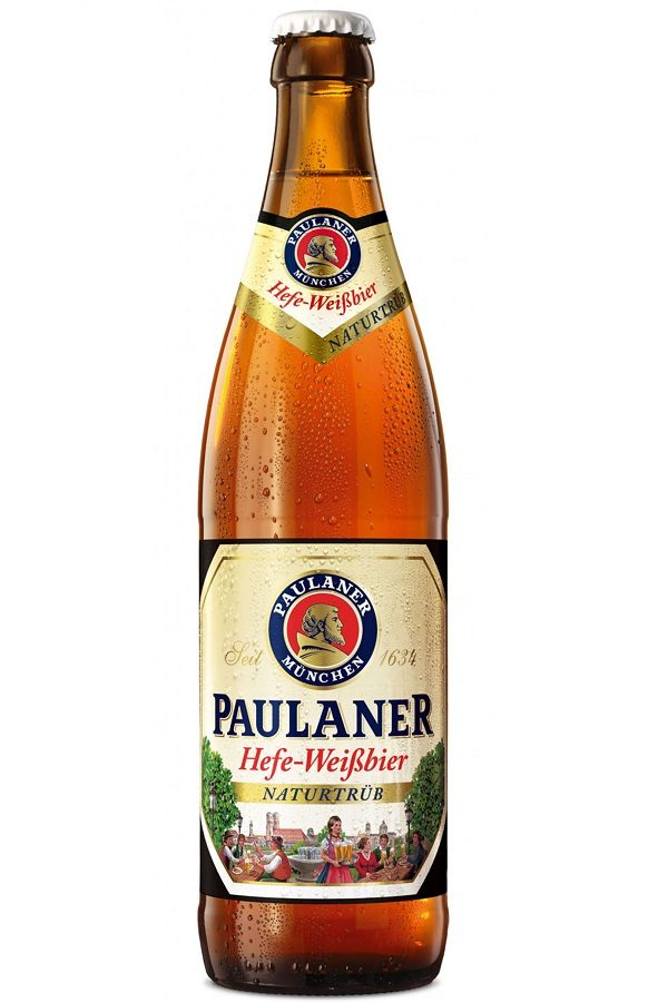 Paulaner Hefe Hell (Weiss) (pack of 20)