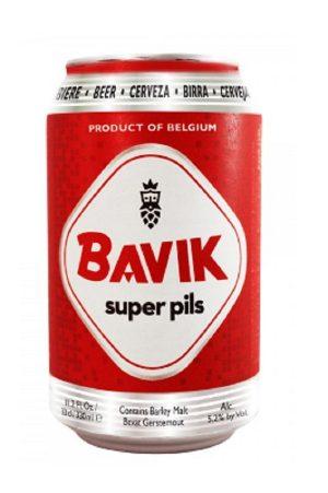 Bavik Super Pils Can