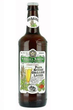 Sam Smith's Pure Brewed Organic Lager (pack of 12)