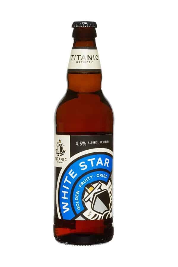 White scar bottle