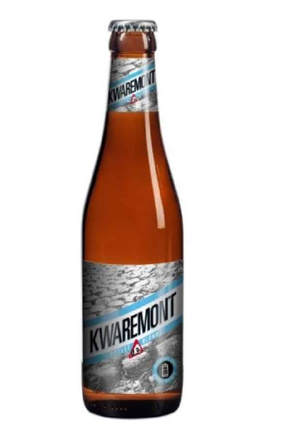 Kwaremont Alcohol Free beer bottle