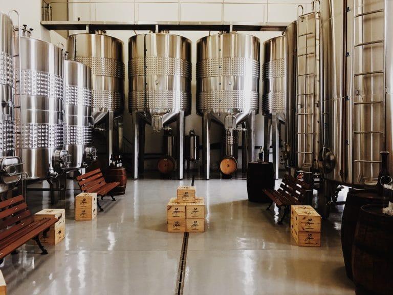 Beer Brewery Tanks