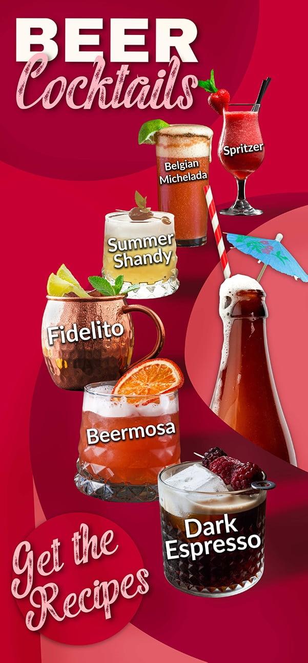 Beer Cocktails Recipes Beer Delivery Belgian Beer