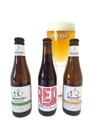 De Brabandere Mixed 18 Bottle Beer Case & FREE GLASS