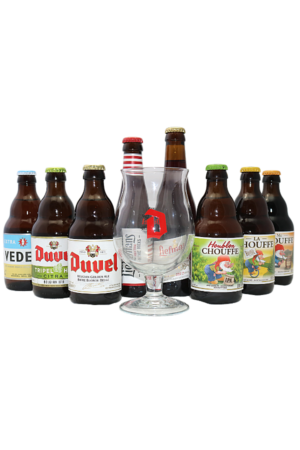 Duvel Moortgat Mixed Beer Case & FREE GLASS