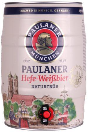 Paulaner Hefe Weissbier 5l Party Can (Mini Keg)