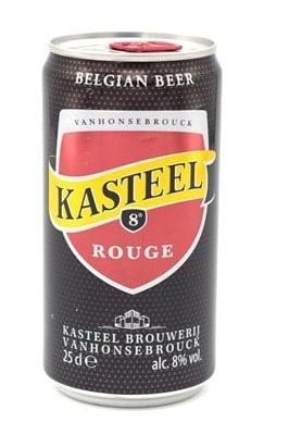 Kasteel Rouge Can 25cl