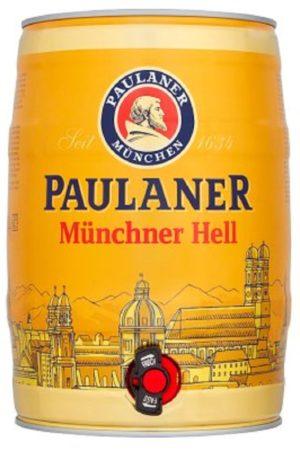 Paulaner Munchner Hell 5l Party Can (Mini Keg)
