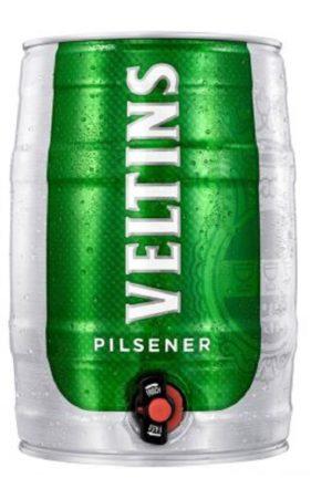 Veltins Pilsener 5l Party Can (Mini Keg)